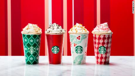 Starbucks unveils holiday cups and new festive drinks