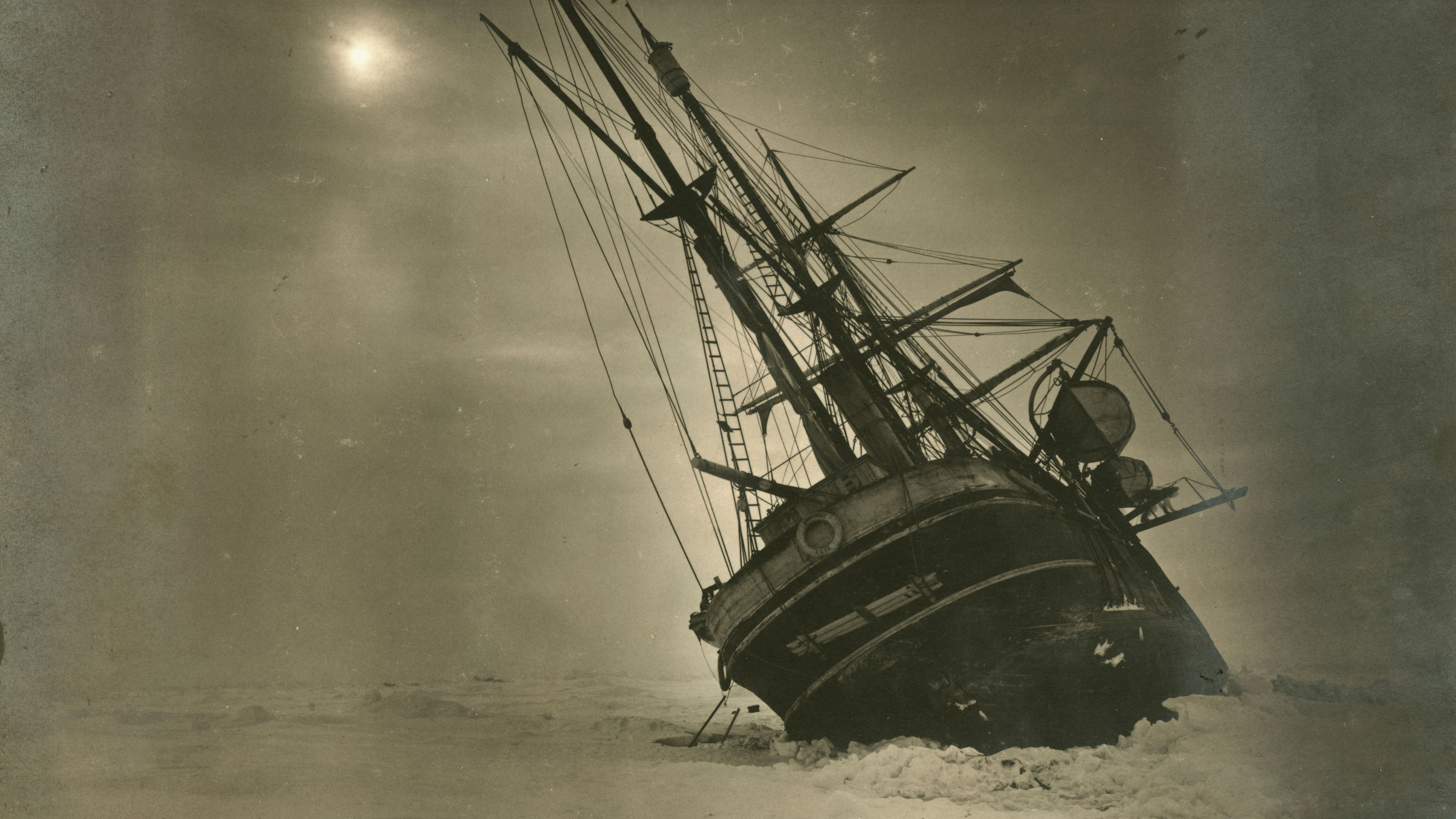 Chilling pictures of Antarctica expeditions, past and