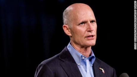 Rick Scott, a Florida Republican, is seen in 2018.