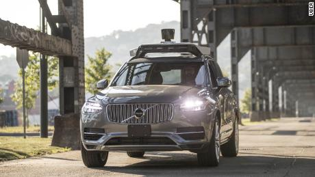 Uber wants to test self-driving cars again after fatality