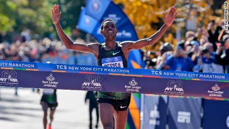 Ethiopia's Desisa, Kenya's Keitany take NYC Marathon