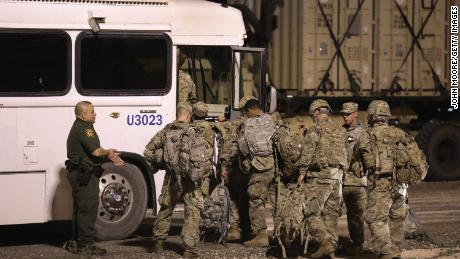 Pentagon approves extension of military support to border but reduces troop levels