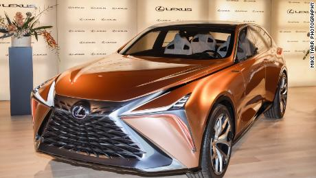 Lexus' marquee will showcase its LF-1 Limitless concept car. It's designed to be powered by gas, hybrid or full-electric.
