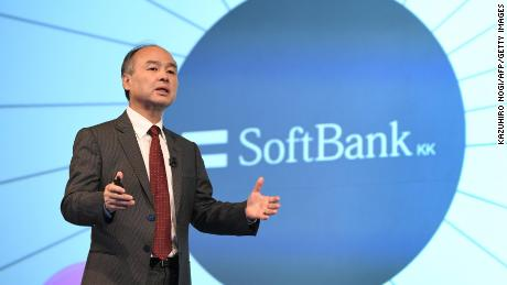 SoftBank mobile business files for record £16bn float in Tokyo