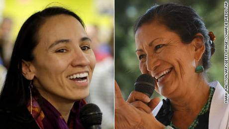 Deb Haaland: First Native American woman elected to Congress