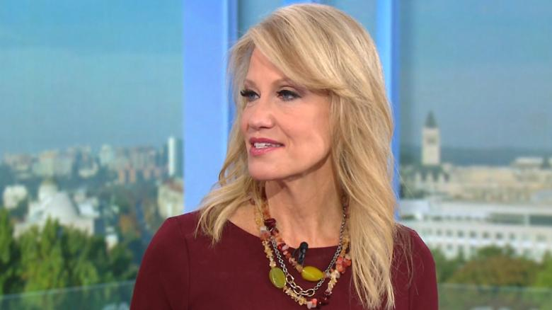 Conway deflects question on Trump's tone