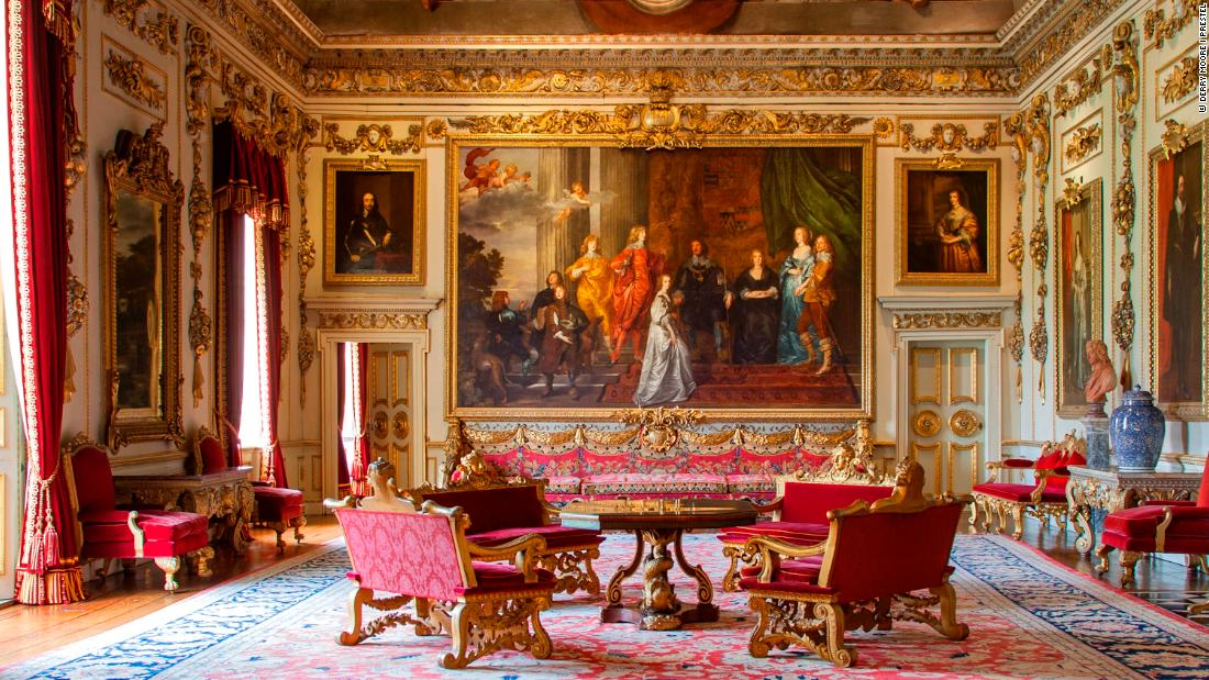Inside History S Most Opulent English Houses Cnn Style