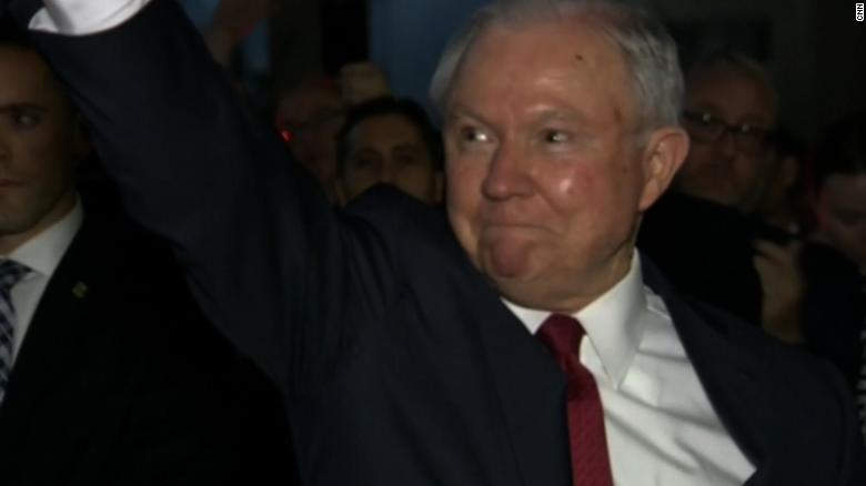 See Jeff Sessions leave DOJ after firing
