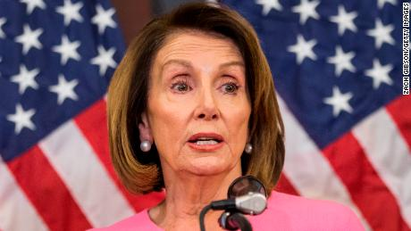 Nancy Pelosi holds a news conference following the 2018 midterm elections