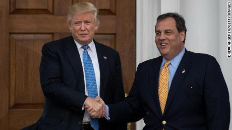 Christie: Trump found him with a riff [19659008] Christie: Trump confiscated himself with riffraff