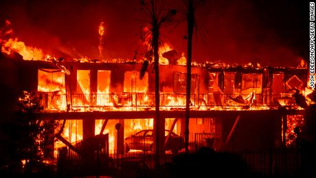 One of the California wildernesses grew as soon as it burned correspondingly to a soccer field every second