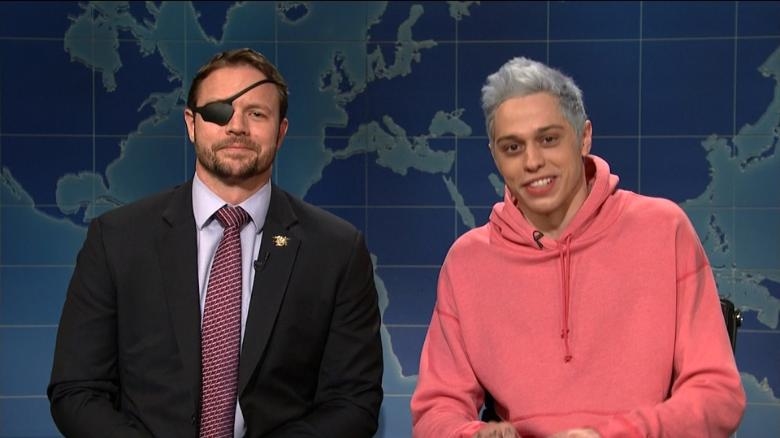 On SNL, Pete Davidson Says Sorry to Wounded Vet He Mocked