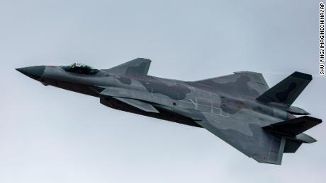 China unveils J-20 stealth fighter's missile capability at airshow