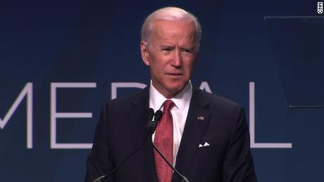 It's too late for Joe Biden to compete in the 2020 race?
