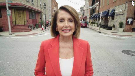 Nancy Pelosi: 'I want women to see that you do not get pushed around'
