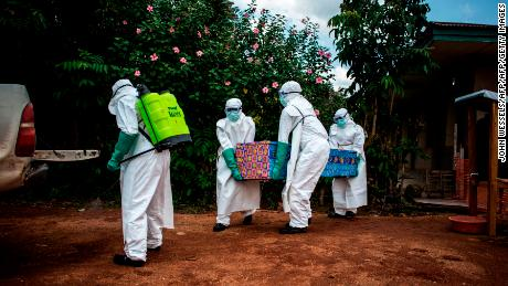 Ebola is the worst in the Democratic Republic of the Congo