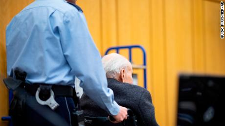 Former Nazi concentration camp guard testifies in court