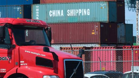 US trade deficit falls 15% as Americans buy less from China