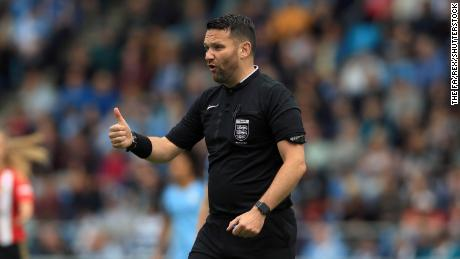 Referee David McNamara suspended by FA over rock, paper, scissors controversy