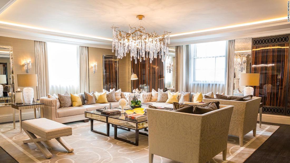 London hotel suite on sale for $14 million