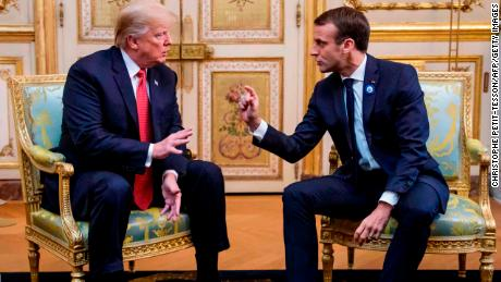 Réunion Trump-Macron en Normandie: à la recherche de feux d'artifice
