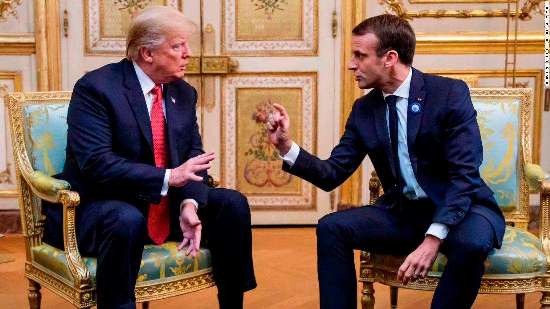 Macron-Trump meeting in Normandy: Look for fireworks (Opinion) - CNN