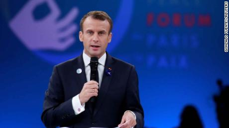 Emmanuel Macron said protesters have a
