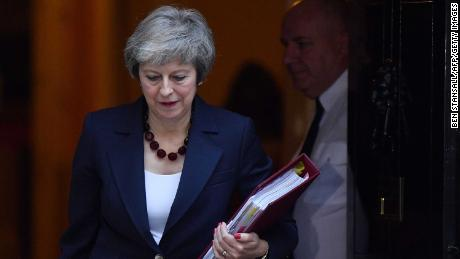 Is Britain's Prime Minister facing Mayday over her Brexit plan?