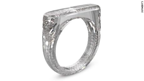 Jony Ive and Marc Newson's all-diamond ring sells for $256K