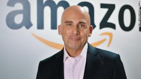 Watch Steve Carrell Troll the President While Portraying Jeff Bezos on 'SNL'