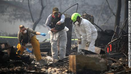 The catastrophic Fire Camp is not even half burning, authorities predict