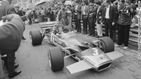 Jochen Rindt won the 1970 Monaco Grand Prix in the Lotus 72.