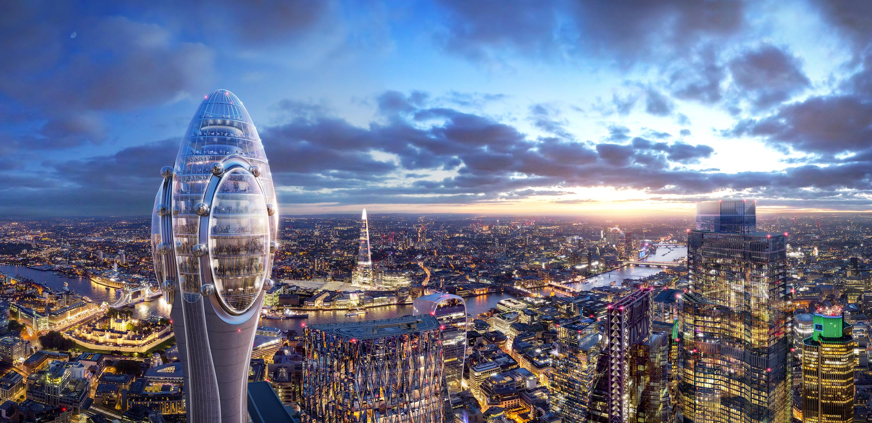 London to get 'world's first' infinity pool with 360-degree