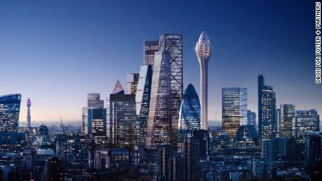 London's mayor blocks plans for controversial 'Tulip' skyscraper