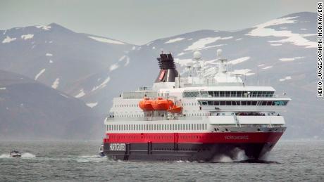 Dead fish to fuel Norwegian Hurtigruten cruise liner