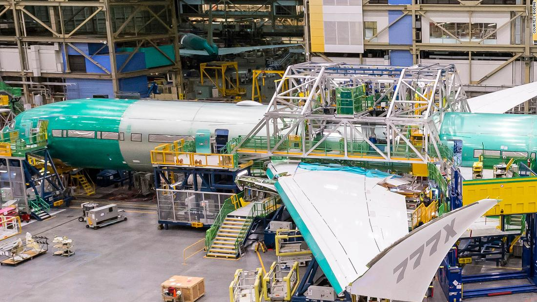 Boeing's 'transonic' wing design revealed in new image
