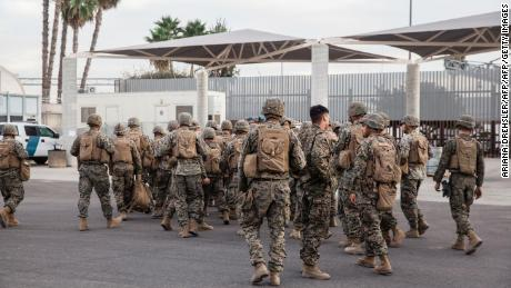 Trump administration to send approximately 160 troops to southern border as it awaits asylum policy ruling