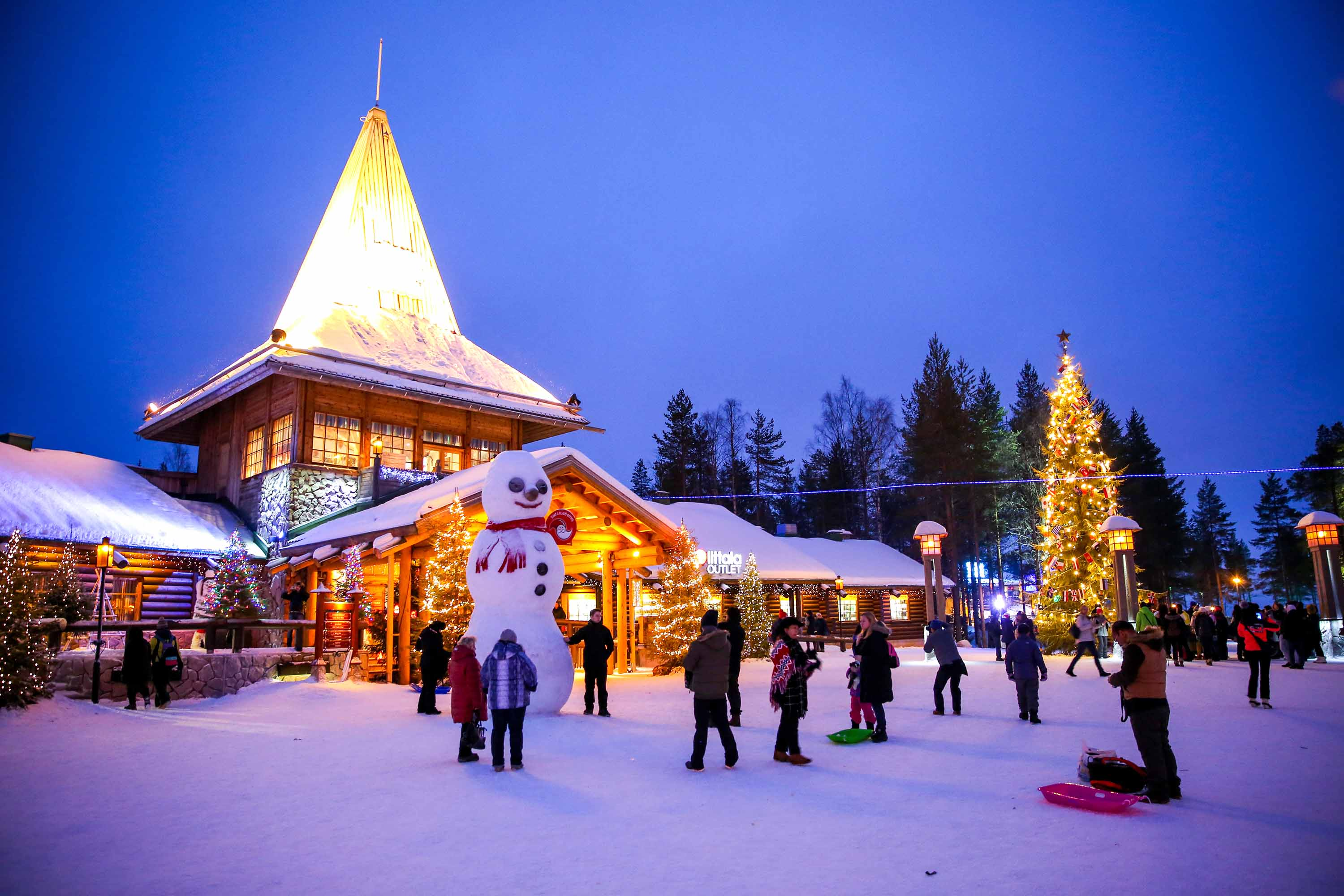 Lapland S Lack Of Snow Triggers Holiday Worries In Finland Cnn Travel