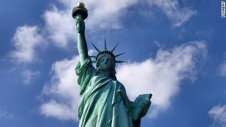 The Statue of Liberty: A beacon of freedom