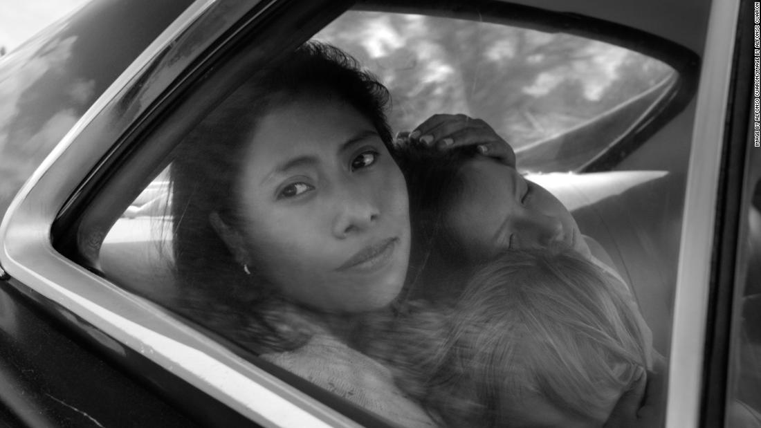 """<strong>""""Roma""""</strong>: Yalitza Aparicio stars as Cleo, Marco Graf as Pepe, and Daniela Demesa as Sofi in this film about a tumultuous year in the life of a middle-class family in Mexico City in the early 1970s, written and directed by Alfonso Cuarón. <strong>(Netflix) </strong>"""