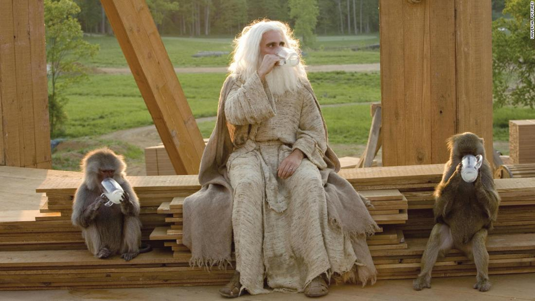 """<strong>""""Evan Almighty""""</strong>: Steve Carell stars as a man who has quite the experience after God contacts him and tells him to build an ark. (<strong>Amazon Prime) </strong>"""