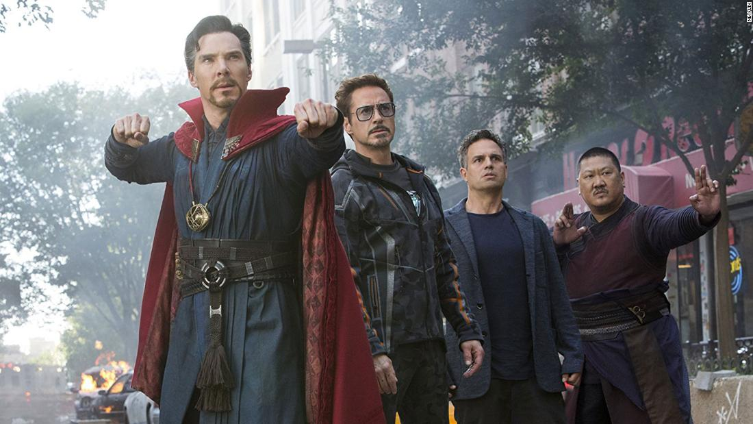 """<strong>""""Marvel Studios' Avengers: Infinity Wa</strong>r"""": The Avengers come together in an attempt to defeat the powerful Thanos.<strong>(Netlfix) </strong>"""