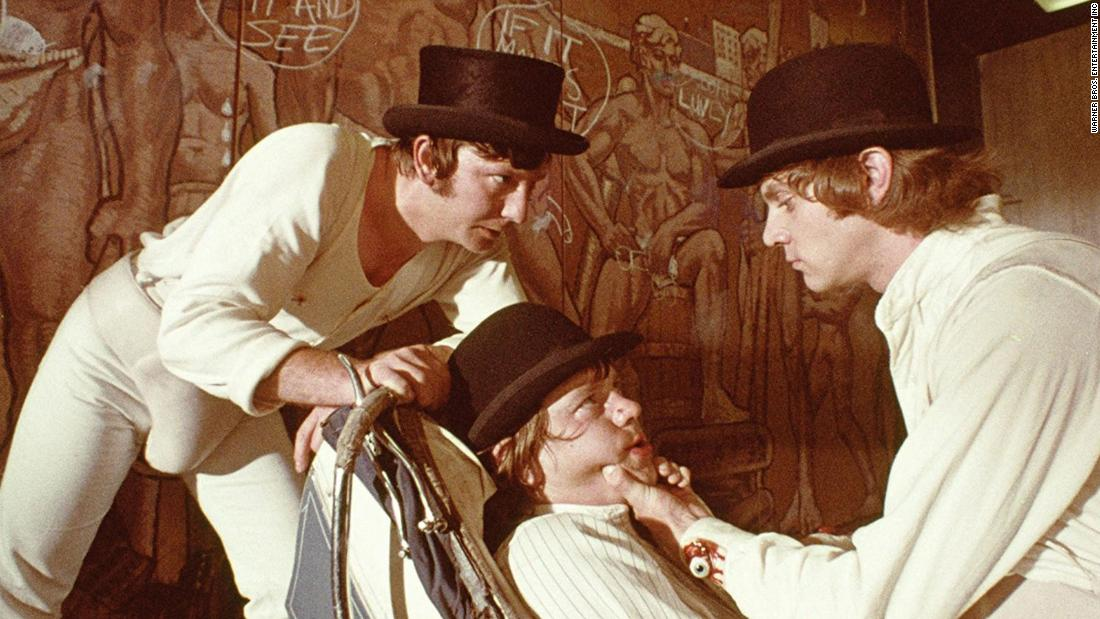"""<strong>""""A Clockwork Orange""""</strong>: Malcolm McDowell stars and Stanley Kubrick directs this dystopian crime classic. <strong>(Amazon Prime) </strong>"""