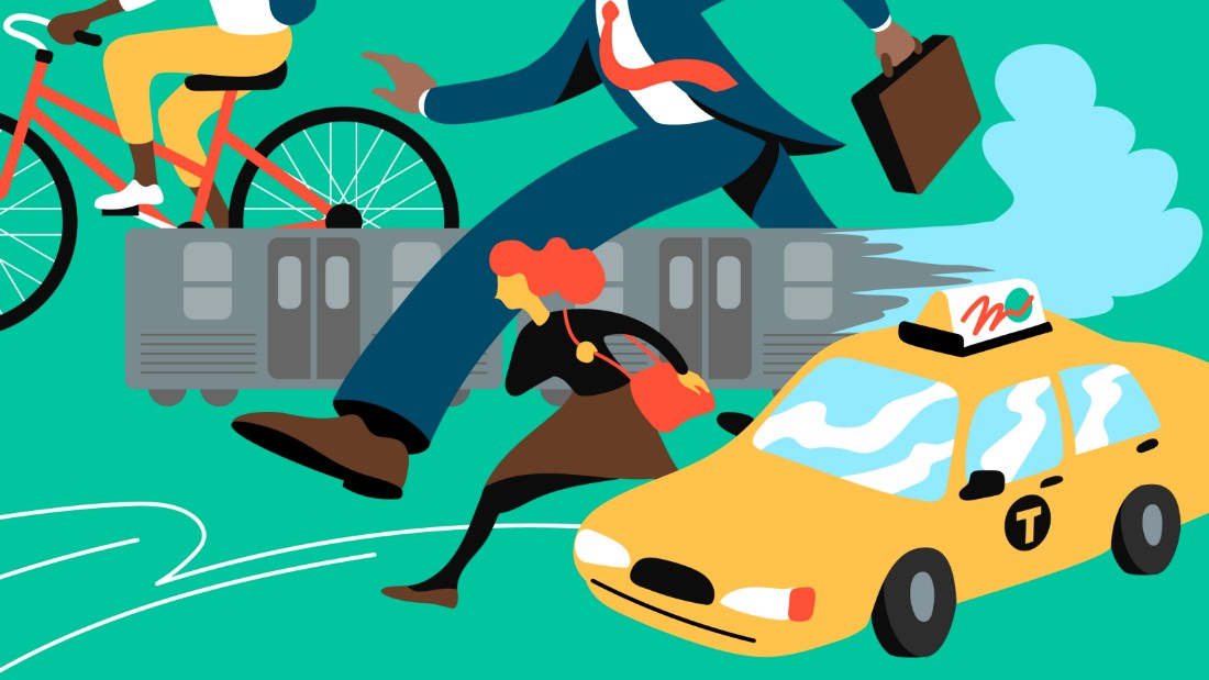 The hidden costs of commuting while female