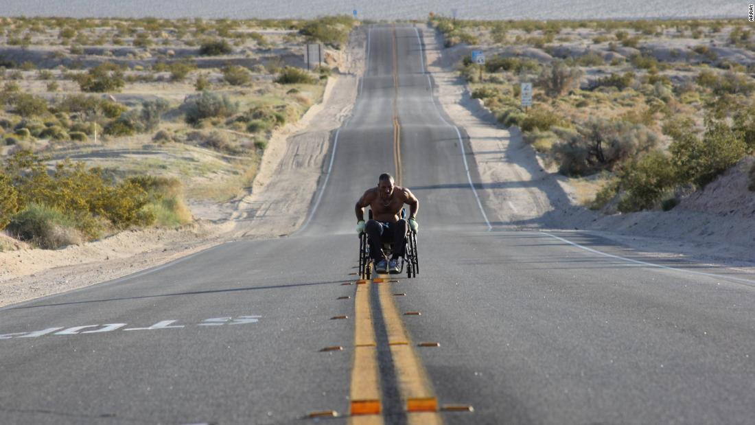"""<strong>""""Roll With Me""""</strong>: Set amidst 3,100 miles of open road and small towns across America, this documentary chronicles recovering addict and paraplegic Gabriel Cordell's momentous journey to become the first person to navigate an unmotorized wheelchair across America. <strong>(Netflix) </strong>"""