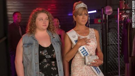 Danielle Macdonald and Jennifer Aniston star in the Netflix film
