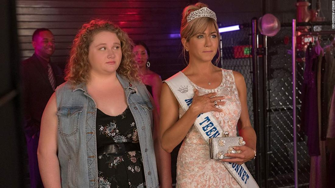 """<strong>""""Dumplin'""""</strong>: Danielle Macdonald and Jennifer Aniston star in this film about a the plus-size, teenage daughter of a former beauty queen who signs up for her mom's pageant as a protest. <strong>(Netflix) </strong><br />"""