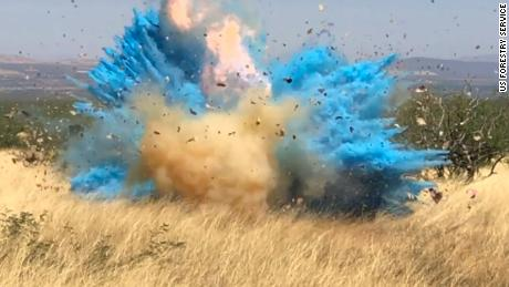 Officials release video from gender reveal party that ignited a 47,000-acre wildfire