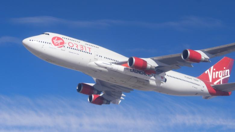Virgin successfully drops a rocket from a Boeing 747