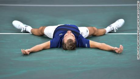 Julien Benneteau soaked up the atmosphere at the Paris Masters last year after beating Marin Cilic.